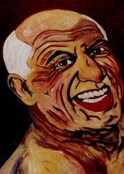 31- Picasso a los 77 años. Picasso.. Carmen Luna