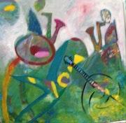 Jazz band. Marcelline Rougemont