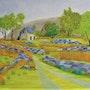 Inspiration irlandaise (Black valley). Gerard Flohic