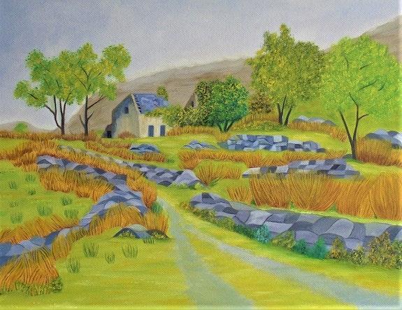 Inspiration irlandaise (Black valley). Gerard Flohic Gerard Flohic