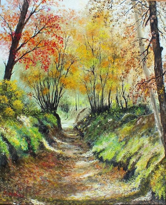 Embrasement d'automne. Ivaldi Martine Martine Ivaldi
