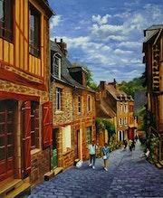 Promenade bretonne à dinan.