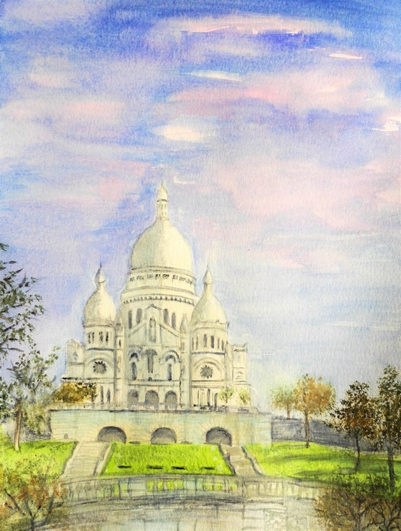 Le Sacré Cœur. Michèle Truchot Mimi