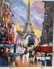 Paris couleurs. Nadia Barsky