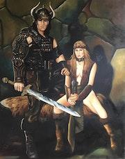 Valeria et Conan.
