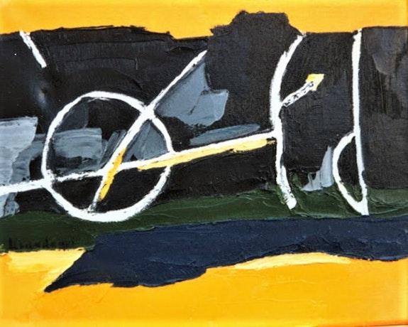 Abstracción de la bici. Marisol Usandegi Marisol Usandegi