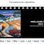 Calendrier 2021. Catherine Wernette