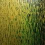 Pintura abstracta: Desvanecimiento de oro verde.. Jonathan Pradillon