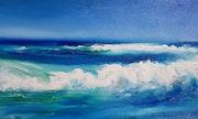 Waves of the ocean. Amani Art