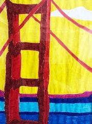 Golden Gate Bridge. Quinto Proyecto De Exposición
