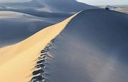 The blue dune.