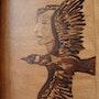 La femme et l'oiseau. Dany Iglesias