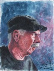 Retrato de Roberto Chile. Iván Carbonell Machuty