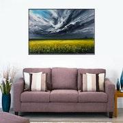 The cumulus clouds. Amani Art
