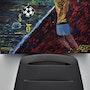 Coupe du monde critique /v2/ peinture abstraite, critique comique football sport. Joky Kamo