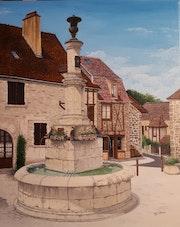 Fontaine d'Autoire.