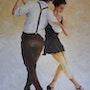 Couple de danseurs. Maurice Chiesa