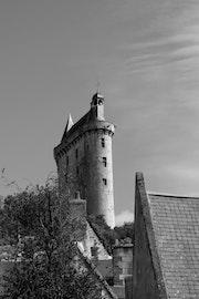 Tour du château de Chinon..