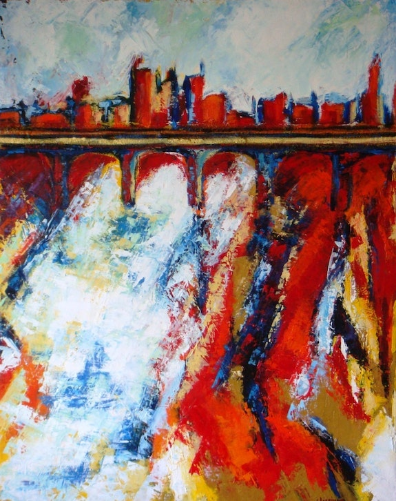The bridge n°1. Christine Lécrivain Heart In Business
