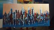 Peinture abstraite.