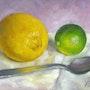 Citrons et Cuillère. Frédéric Reverte