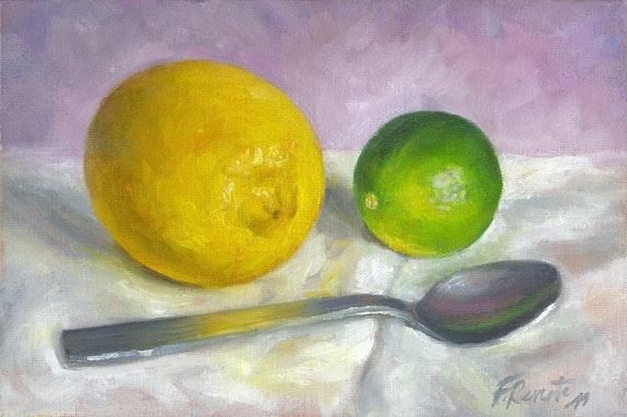 Citrons et Cuillère. Frédéric Reverte Frédéric Reverte