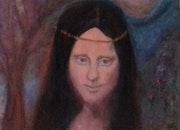 Mona rayada. Marcela Lopez