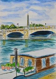 Paris, les quais de Seine.