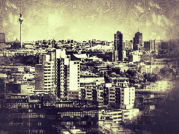 Berlin Skyline Impression. Blazir Blazir