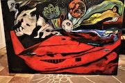 Planète peinture Abstraite, par joky Kamo.
