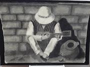 Música y pintura. Estefania Pazmiño