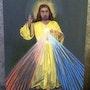 Jésus lumière sort du cœur de Jésus penture par Joky kamo 2001. Joky Kamo