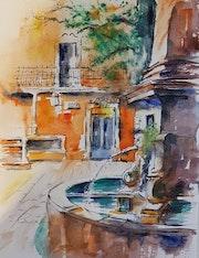 Fontaine en Provence.