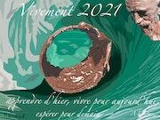 Vœux 2021 - Jonas dans la tempête. Michel Normand
