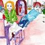 54- El Recreo. Dibujos.. Carmen Luna
