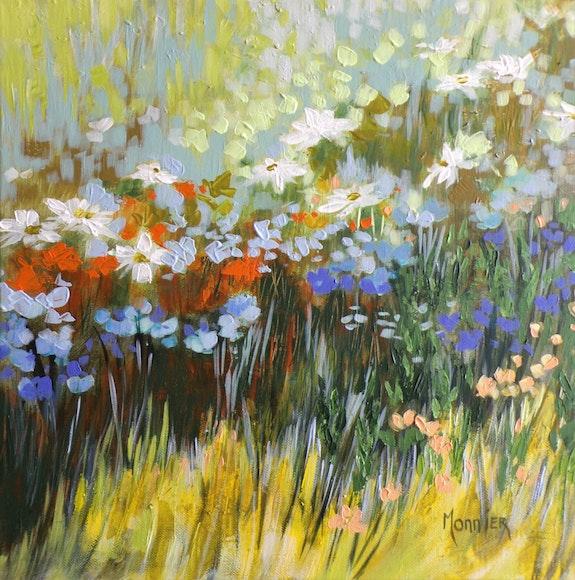 Le nez dans l'herbe. Cathy Monnier Cathy Monnier