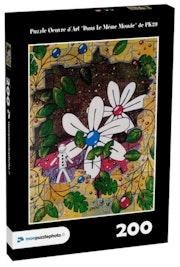 Puzzle Oeuvre d'Art «Dans Le Même Monde» 200p.