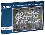 Puzzle Oeuvre d'Art «Graffiti is not a crime». Pk29