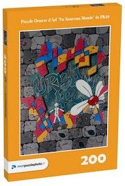 Puzzle Oeuvre d'Art «Un Nouveau Monde».