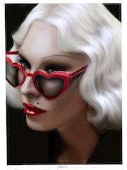 Glasses. Becú