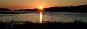 Couché de soleil panoramique sur l'océan.. Christophe Leroy