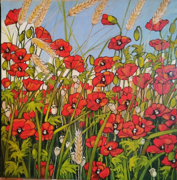 Coquelicots and co suite.  Sandrine Millet