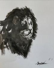 Lion. Graphiqoo