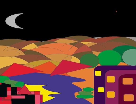 Nightscape. George Hutton Hunter George Hutton Hunter