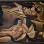 Christ descending/ Christ descendant/ Cristo descendiendo. Kamal Minotta