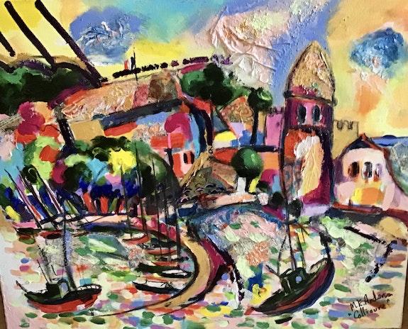 La baie de Collioure. Maria Anderson Maria Anderson