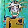 Hommage àJean Michel Basquiat. Thibo
