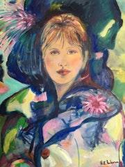 Helene au chapeau bleu. Maria Anderson