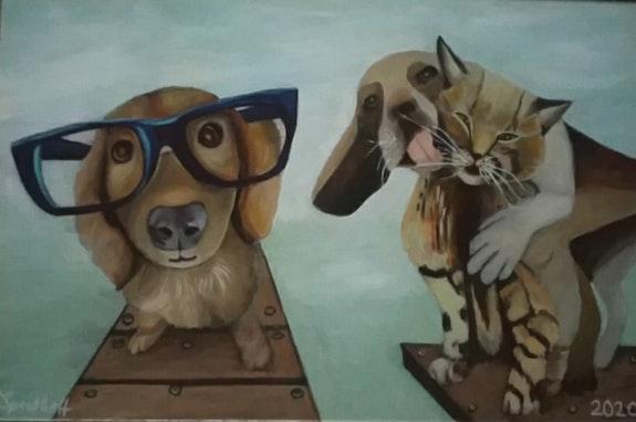 Hund und Katze. Sprathoff Sprathoff
