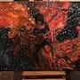 Guitarist Painting, Michael Angelo Batio, Oil Painting By Joky kamo. Joky Kamo